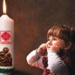 Opłatki i wigilijne świece