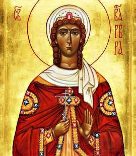 4 grudnia - św. Barbary